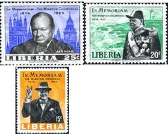 Ref. 338577 * MNH * - LIBERIA. 1966. WISTON CHURCHILL . WISTON CHURCHILL - Liberia