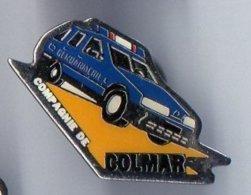 Pin's Compagnie De Colmar - Gendarmerie - - Militaria