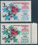 B6329 Russia USSR 1964 Winter Olympic Innsbruck Sport ERROR - Winter 1964: Innsbruck