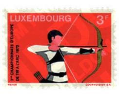 Ref. 97446 * MNH * - LUXEMBOURG. 1972. 3rd EUROPEAN ARCHERY CHAMPIONSHIPS . 3 CAMPEONATOS DE EUROPA DE TIRO AL ARCO - Tir à L'Arc
