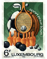 Ref. 97549 * MNH * - LUXEMBOURG. 1980. SPORTS FOR EVERYBODY . DEPORTES PARA TODOS - Golf