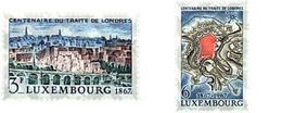 Ref. 97379 * MNH * - LUXEMBOURG. 1967. CENTENARY OF THE TREATY OF LONDON FOR THE NEUTRALITY . CENTENARIO DEL TRATADO DE - Treni