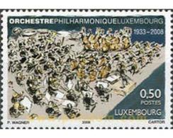 Ref. 218507 * MNH * - LUXEMBOURG. 2008. ORCHESTRA . ORQUESTA - Ongebruikt