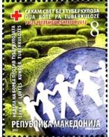 Ref. 307636 * MNH * - MACEDONIA. 2012. RED CROSS . CRUZ ROJA - Mazedonien