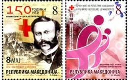 Ref. 307640 * MNH * - MACEDONIA. 2013. RED CROSS . CRUZ ROJA - Mazedonien