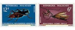 Ref. 594711 * MNH * - MADAGASCAR. 1966. INSECTS . INSECTOS - Madagascar (1960-...)