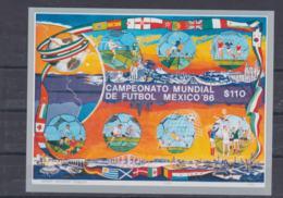 Mexico 1986 FIFA World Cup Football In Mexico Souvenir Sheet MNH/** (H54) - Coupe Du Monde
