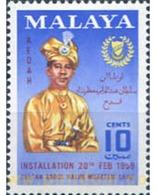 Ref. 340196 * MNH * - MALAYSIA. KEDAH. 1959. ANIVERSARIO DEL SULTAN - Kedah