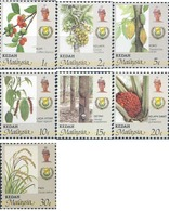Ref. 340294 * MNH * - MALAYSIA. KEDAH. 1986. AGRICULTURAL PRODUCTS . PRODUCTOS AGRICOLAS - Kedah