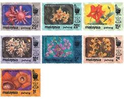 Ref. 92043 * MNH * - MALAYSIA. PAHANG. 1979. FLOWERS . FLORES - Pahang