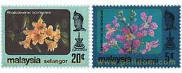 Ref. 340246 * MNH * - MALAYSIA. SELANGOR. 1984. FLOWERS . FLORES - Selangor