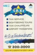 New Zealand - Private Overprint - 1993 Auckland Co-op Taxis $5 - Mint - NZ-CO-10 - Nouvelle-Zélande