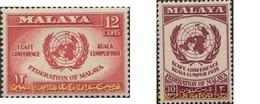 Ref. 340054 * MNH * - MALAYA. 1958. EN HONOR A LAS NACIONES UNIDAS - Malayan Postal Union