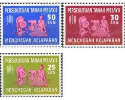 Ref. 340060 * MNH * - MALAYA. 1963. DIA MUNDIAL CONTRA EL HAMBRE - Malayan Postal Union