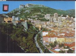 AK-div.31- 585   Monaco - Monte Carlo - Le Palais Princier Et Le Quartier Dit ** La Condamine ** - Monte-Carlo