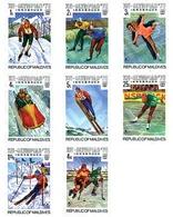 Ref. 71335 * MNH * - MALDIVES. 1976. XII OLYMPIC WINTER GAMES. INNSBRUCK 1976 . 12 JUEGOS OLIMPICOS  INVIERNO INNSBRUCK - Maldive (1965-...)