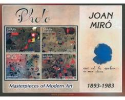 Ref. 277571 * MNH * - MALDIVES. 2003. TRIBUTE TO JOAN MIRO . HOMENAJE A JOAN MIRO - Maldives (1965-...)