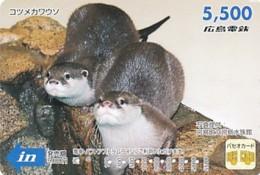 JAPAN - Prepaidkarte - Tiere  - Siehe Scan - Telefonkarten
