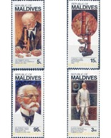 Ref. 340536 * MNH * - MALDIVES. 1983. DOCTOR KOCH - PREMIO NOBEL DE MEDICINA - Malediven (1965-...)