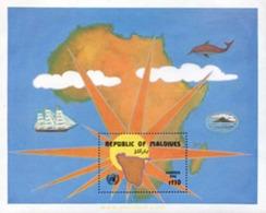Ref. 340596 * MNH * - MALDIVES. 1984. LIBERTAD PARA EL PUEBLO DE NAMIBIA - Malediven (1965-...)