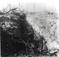 PHOTO GUERRE 1914 7 Mort Dans Les Tranchées - Guerre, Militaire