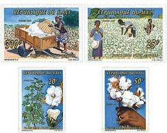 Ref. 95343 * MNH * - MALI. 1996. COTTON HARVEST . LA RECOGIDA DEL ALGODON - Mali (1959-...)