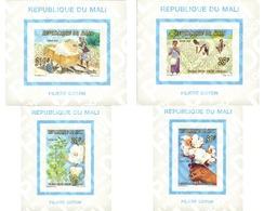Ref. 566851 * MNH * - MALI. 1996. COTTON HARVEST . LA RECOGIDA DEL ALGODON - Mali (1959-...)