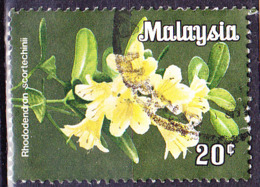 Malaiische Staaten V - Rhodedendron (Rhododendron Scortechinii) (MiNr: 13) 1983 - Gest Used Obl - Malayan Postal Union