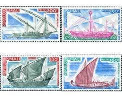 Ref. 192650 * MNH * - MALI. 1976. SHIPS . BARCOS - Mali (1959-...)