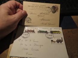 Un Lot De Lettres à Voir Et Etudier ((pas De Devant)),voir Tous Les Scans , GRANDE BRETAGNE,royaume Uni - Marcophilie - EMA (Empreintes Machines)