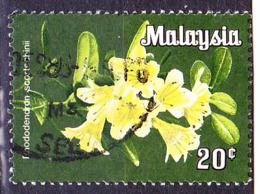 Malaiische Staaten V - Rhodedendron (Rhododendron Scortechinii) (MiNr: 6Y) 1979 - Gest Used Obl - Malayan Postal Union