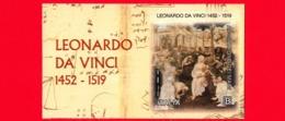 Nuovo - MNH - ITALIA - 2019 - 500 Anni Della Morte Di Leonardo Da Vinci - Adorazione Dei Magi - Da BF - B - 1946-.. République