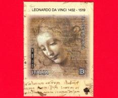 Nuovo - MNH - ITALIA - 2019 - 500 Anni Della Morte Di Leonardo Da Vinci - Testa Di Fanciulla - La Scapiliata - Da BF - B - 1946-.. République