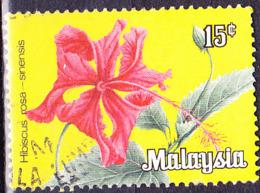 Malaiische Staaten V - Chin. Roseneibisch (Hibiscus Rosa-sinensis) (MiNr: 5) 1979 - Gest Used Obl - Malayan Postal Union