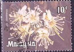 Malaiische Staaten V - Durianbaum (Durio Zibethinus) (MiNr: 4) 1979 - Gest Used Obl - Malayan Postal Union