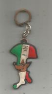 Porte Clefs , Clés, Sports , FOOTBALL , Coupe Du Monde 1966 , ITALY ,chocolat CANTALOUP, 2 Scans, Frais Fr 1.65 E - Porte-clefs
