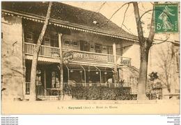 01 SEYSSEL. Hôtel Du Rhône. Propriétaire Bouhas 1916 - Seyssel