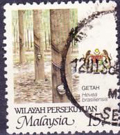 Malaiische Staaten V - Naturkautschuk (Hevea Brasiliensis) (MiNr: 19) 1986 - Gest Used Obl - Malayan Postal Union