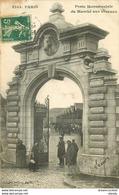 75 PARIS XV. Porte Monumentale Du Marché Aux Chevaux 1908 - District 15