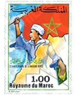 Ref. 53388 * MNH * - MOROCCO. 1977. 2nd ANNIVERSARY OF THE GREEN MARCH . 2 ANIVERSARIO DE LA MARCHA VERDE - Morocco (1956-...)