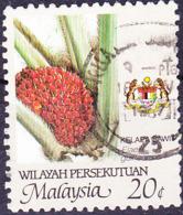 Malaiische Staaten V - Palmöl (Elaeis Guineensis) (MiNr: 20 A) 1986 - Gest Used Obl - Malayan Postal Union