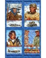 Ref. 170786 * MNH * - MARSHALL Islands. 2004. 60th ANNIVERSARY OF BULGE BATTLE . 60 ANIVERSARIO DE LA BATALLA DE BULGE - Aerei