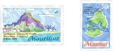 Ref. 147891 * MNH * - MAURITIUS. 1970. VUELO INAUGURAL DE LUFTHANSA - Mauricio (1968-...)