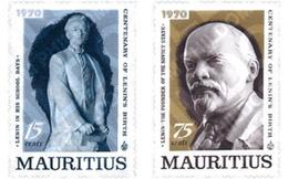 Ref. 147893 * MNH * - MAURITIUS. 1970. CENTENARY OF THE BIRTH OF LENIN . CENTENARIO DEL NACIMIENTO DE LENIN - Mauricio (1968-...)