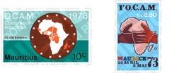 Ref. 147895 * MNH * - MAURITIUS. 1973. OCAM CONFERENCE . CONFERENCIA DE LA O.C.A.M. - Mauricio (1968-...)