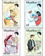 Ref. 162685 * MNH * - MAURITIUS. 1980. 100 ANIVERSARIO DEL NACIMIENTO DE HELLEN KELLER - Mauricio (1968-...)
