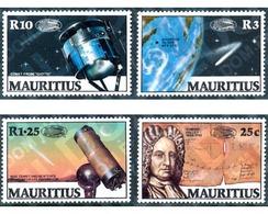 Ref. 162705 * MNH * - MAURITIUS. 1986. HALLEY  COMET . COMETA HALLEY - Mauricio (1968-...)
