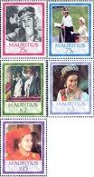 Ref. 162706 * MNH * - MAURITIUS. 1986. 60th ANNIVERSARY OF QUEEN ELIZABETH II . 60 ANIVERSARIO DE LA REINA ISABEL II - Mauricio (1968-...)