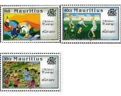 Ref. 605203 * MNH * - MAURITIUS. 1994. CHILDREN'S PAINTINGS . PINTURAS INFANTILES - Mauricio (1968-...)