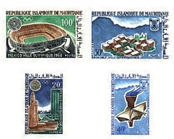 Ref. 71326 * MNH * - MAURITANIA. 1967. GAMES OF THE XIX OLYMPIAD. MEXICO 1968. X WINTER OLYMPIC GAMES. GRENOBLE 1968 . 1 - Summer 1968: Mexico City